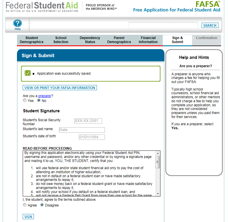 screen shot of a crappy government form.