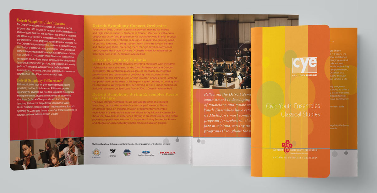Dso Civic Ensembles Promotional Brochure Series  Sullivan Leh Designs